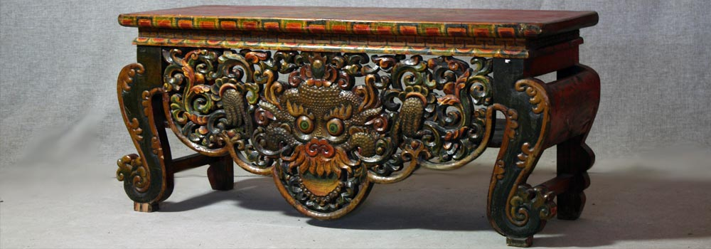 Tibetan Style. Furniture HQ wholesale warehouse in China Beijing  imported decor